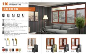110 CASEMENT WINDOW WITH FLYSCREEN